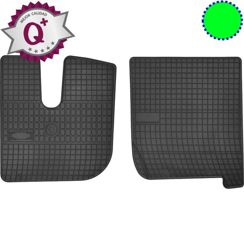 Alfombras de camión Q+ a la medida para IVECO Stralis - Versión CORTA
