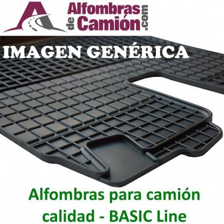 Alfombras de camión - BASIC - para MERCEDES Actros MP3 - Cabina: S