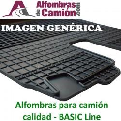 Alfombras de camión - BASIC - para MERCDES Actros MP4 - Estrecho
