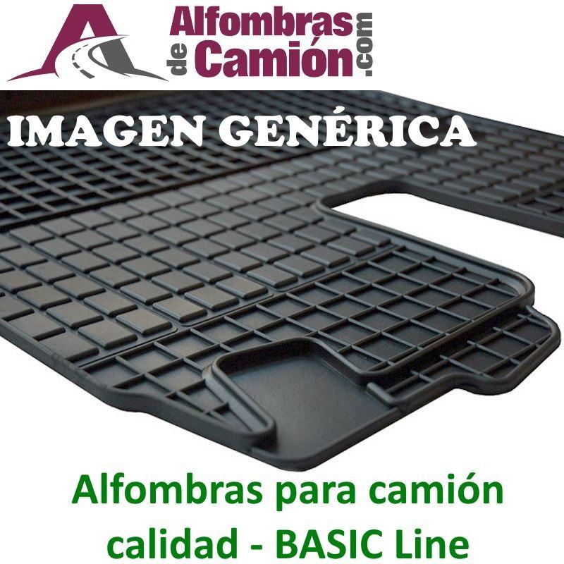 Alfombras de camión - BASIC - para MERCDES Actros MP4 - Ancho