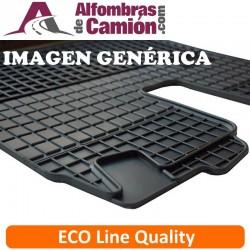 Alfombras de camión - ECO - para MERCDES Actros MP4 - Estrecho