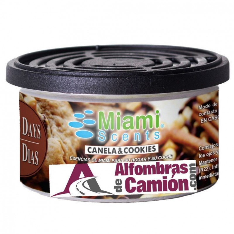 Lata llena de Aroma a Canela y Galletas - ( Canela & Cookies )