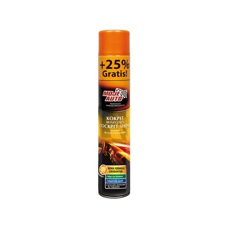 Limpia salpicaderos - Olor Vainilla - Spray 500 ml. +25% grátis