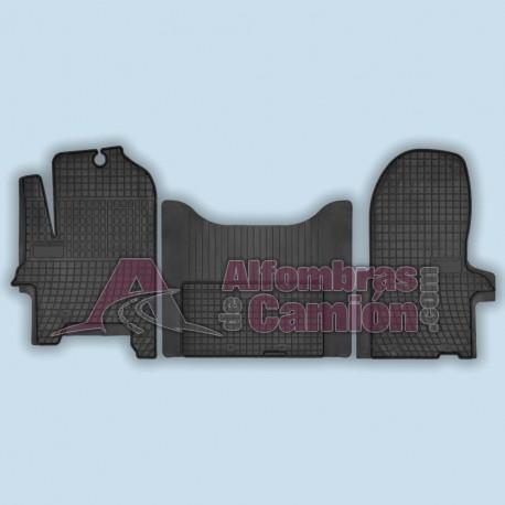 Alfombra delantera completa - 3 piezas - IDEAL - Iveco Daily desde 2006