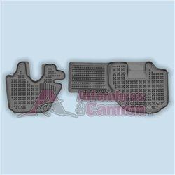 Alfombras de camión FLEXILINE para Isuzu ELF Serie N / Ancho de cabina 2040 cm